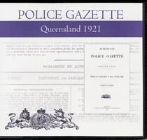 Queensland Police Gazette 1921