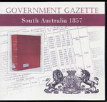 South Australian Government Gazette 1857