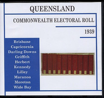 Queensland Commonwealth Electoral Roll 1939
