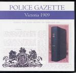 Victoria Police Gazette 1909