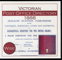 Victorian Post Office Directory 1888 (Wise)