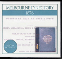Melbourne Directory 1876 (Sands and McDougall)