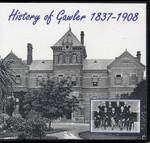 History of Gawler 1837-1908