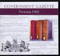 Victorian Government Gazette 1902