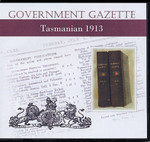 Tasmanian Government Gazette 1913