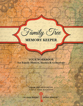 Family Tree Memory Keeper: Your Workbook for Family History, Stories and Genealogy