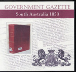 South Australian Government Gazette 1858