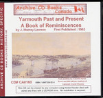 Yarmouth Past and Present: A Book of Reminiscences