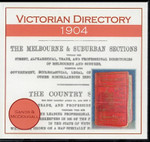 Victorian Directory 1904 (Sands and McDougall)