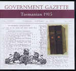 Tasmanian Government Gazette 1915