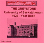 The Greystone: University of Saskatchewan 1928 Year Book