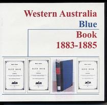 Western Australia Blue Book 1883-1885