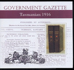 Tasmanian Government Gazette 1916
