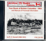 Year Book of British Columbia 1903