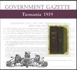Tasmanian Government Gazette 1919