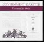 Tasmanian Government Gazette 1924