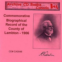 Commemorative Biographical Record of the County of Lambton 1906