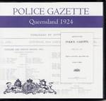 Queensland Police Gazette 1924