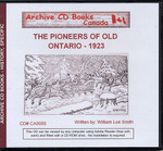 The Pioneers of Old Ontario, 1923