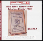 Nova Scotia Eastern District Telephone Directory 1922