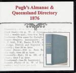 Pugh's Almanac and Queensland Directory 1876