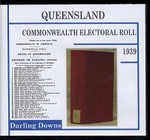 Queensland Commonwealth Electoral Roll 1939 Darling Downs
