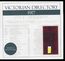 Victorian Directory 1917 (Sands and McDougall)