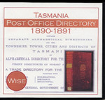 Tasmania Post Office Directory 1890-1891 (Wise)