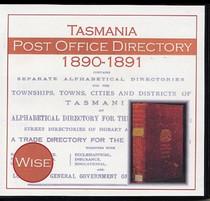 Tasmania Post Office Directory 1890-1891 (Wise)