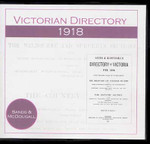 Victorian Directory 1918 (Sands and McDougall)