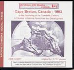 Cape Breton, Canada, 1903