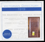 Victorian Directory 1919 (Sands and McDougall)
