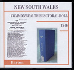 New South Wales Commonwealth Electoral Roll 1946 Barton 1