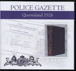 Queensland Police Gazette 1926