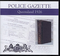 Queensland Police Gazette 1926