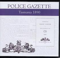 Tasmania Police Gazette 1890