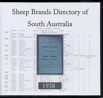 Brands Directory of South Australia 1938: Sheep Brands