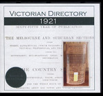 Victorian Directory 1921 (Sands and McDougall)