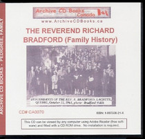 The Reverend Richard Bradford (Family History)