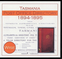 Tasmania Post Office Directory 1894-1895 (Wise)