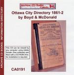 Ottawa City Directory 1861-62