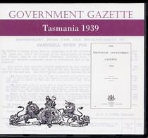 Tasmanian Government Gazette 1939