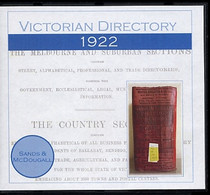 Victorian Directory 1922 (Sands and McDougall)