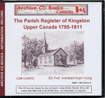 The Parish Register of Kingston, Upper Canada 1785-1811