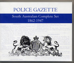 South Australian Police Gazette Complete Set 1862-1947