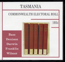 Tasmania Commonwealth Electoral Roll 1934