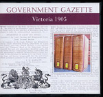 Victorian Government Gazette 1905