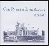 Civic Record of South Australia 1921-1923
