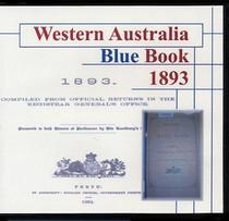 Western Australia Blue Book 1893