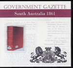 South Australian Government Gazette 1861